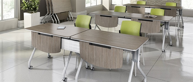 professional office training room furniture solutions rh officefurnituredeals com training room tables with power training room tables used