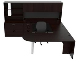 ... U Shaped Executive Desk By Cherryman Larger Photo Email A Friend